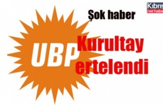 UBP'de 2. tur 2 gün kala ertelendi
