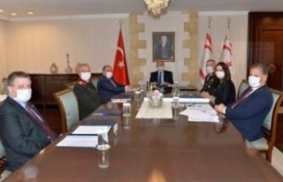 Üst Koordinasyon Kurulu, Cumhurbaşkanı Ersin Tatar...