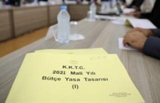 2021 Mali yılı bütçe tasarısı 10 milyar 210...