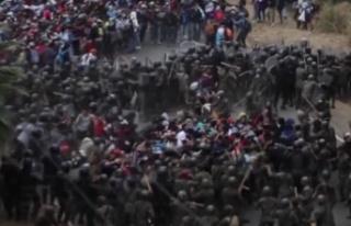 ABD'ye gitmeye çalışan göçmenlere Guatemala...