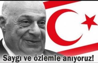 AKP KKTC temsilciliği, Rauf Denktaş'ı andı