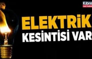 Dikkat Elektrik Kesintisi Yapılacak