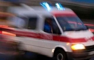 Direksiyon hakimiyetini kaybetti: ağır yaralandı