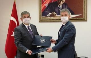 LAÜ ile Sivil Savunma Teşkilatı Başkanlığı...