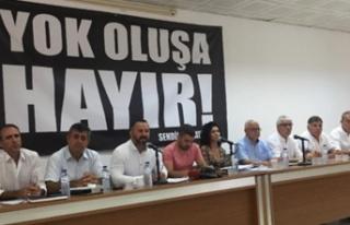 Sendikal Platform, belediyelerde örgütlü sendikaların...