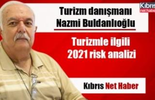 Turizmle ilgili 2021 risk analizi
