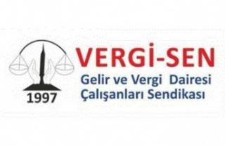 VERGİ-SEN'den Gelir ve Vergi Dairesi yönetimine...