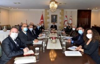 5+BM gayri resmi görüşme öncesi hazırlık toplantısı...