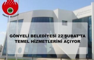Gönyeli Belediyesi Hizmet Binasinin Kapilarini Yarin...