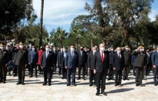 18 Mart şehitleri, boğaz şehitliği'nde düzenlenen...
