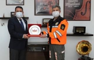 Başbakan Ersan Saner, Sivil Savunma Teşkilatı başkanlığı'nı...