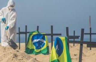 Brezilya'da korona salgınında rekor ölüm