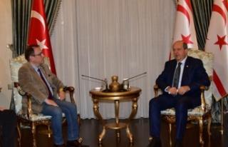 Cumhurbaşkanı Tatar, Kıbrıs Türk Mavi Vatan Derneği...