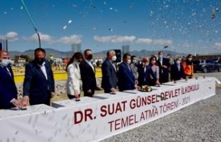 Dr. Suat Günsel Devlet İlkokulu'nun temeli törenle...