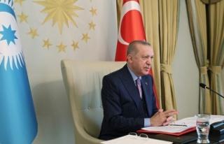 Erdoğan: Güç birliği yaparak Kıbrıs Türklerini...