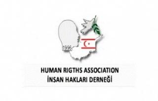 İnsan Hakları Derneği'nden açıklama