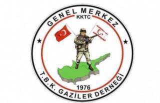 Kıbrıs Türk Barış Kuvvetleri Gaziler Derneği'nden...