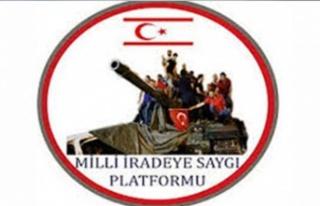 Milli İradeye Saygı Platformu: İki devletli çözüm...