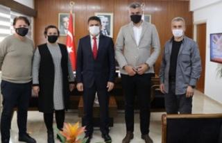 Oğuz, KKTC Karadeniz Kültür Derneği yönetim kurulu...