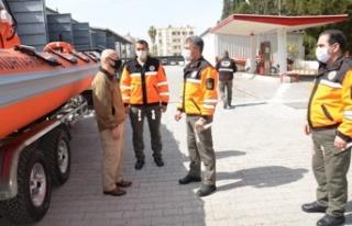 Sivil Savunma, envanterine 9 metrelik deniz botu kattı