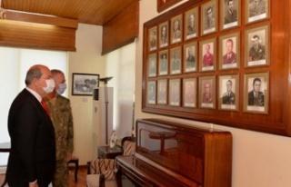 Tatar, Kıbrıs Türk Kuvvetleri alayı'nı ziyaret...