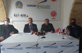 Turizm Örgütleri Platformu'ndan açıklama