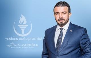 Zaroğlu: Kurultay, YDP'nin yeniden ayağa kalkma...