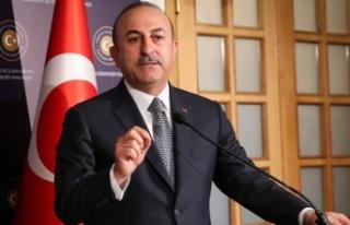 Çavuşoğlu, Kıbrıs Türk tarafının egemen eşitlik...