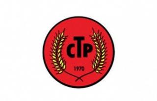 """CTP, """"1 Mayıs Barış ve Sosyal Adalet İçin Umut..."""