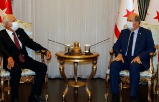 Cumhurbaşkanı Ersin Tatar, TMT Mücahitler Derneği'ni...