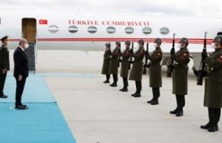 Cumhurbaşkanı Tatar, Ankara'da devlet töreniyle...