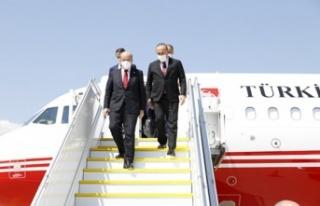 Cumhurbaşkanı Tatar Cenevre'de
