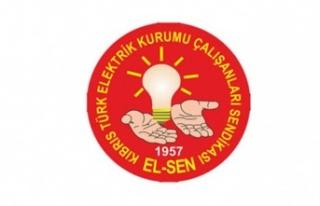 EL-SEN Ekonomi ve Enerji Bakanlığı önünde eylem...