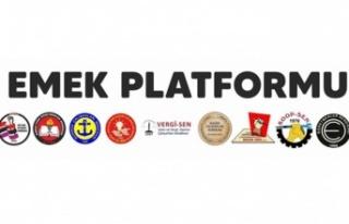Emek Platformu, iş (değişiklik) yasa tasarısı'nı...