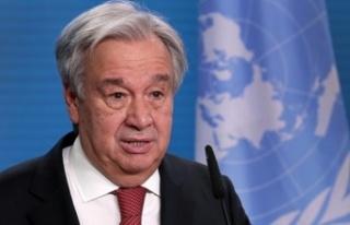Guterres: Resmi görüşmelerin başlaması için...