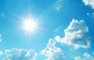 Hava sıcaklığı hafta boyunca 30-33 derece dolaylarında...