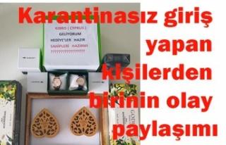 """""""Kıbrıs'a geliyorum, hediyeler hazır, sahipleri..."""