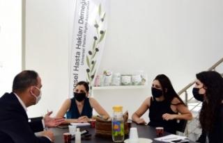 LTB Başkanı Harmancı, Evrensel Hasta Hakları Derneği'ni...