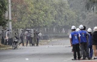 Myanmar'da güvenlik güçlerinin silahlı şiddeti...