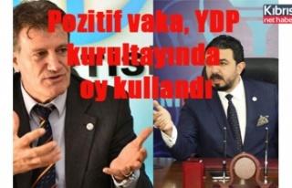 Pozitif vaka, YDP  kurultayında  oy kullandı