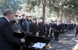 Tatar, Çağatay'ın anma töreninde Rumlara...