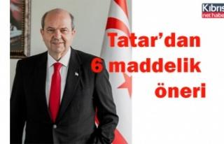 Tatar'dan 6 maddelik öneri