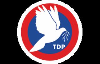 TDP: Kıbrıs Türk'ünü kurtlar sofrasına meze...
