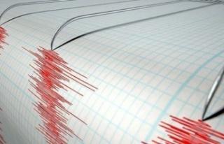 Çanakkale'de 4 büyüklüğünde deprem meydana...