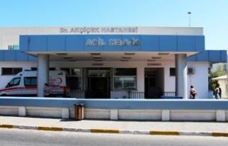 Girne'de PCR testleri Dr. Akçiçek Devlet Hastanesi'nde...