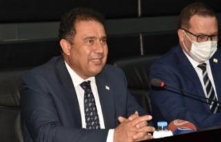 Başbakan Saner, Bakan Oğuz ile birlikte bazı ekonomik...
