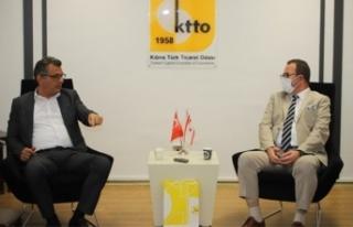 CTP, Kıbrıs Türk Ticaret Odası'nı Ziyaret Etti