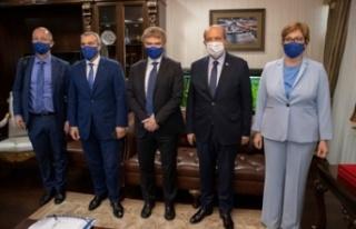Cumhurbaşkanı Tatar AB Komisyonu yapısal reform...