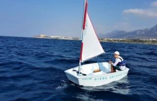 Girne Üniversitesi Su Sporları ve Yelken Okulu Yaz...