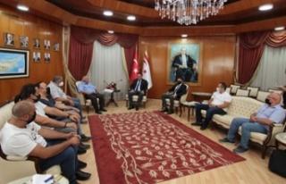 Saner: Önümüzdeki günlerde Ercan ve adadaki geçiş...